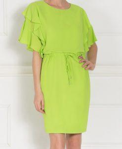 Rochie de zi cu volane Verde - Imbracaminte - Imbracaminte / Rochii de zi