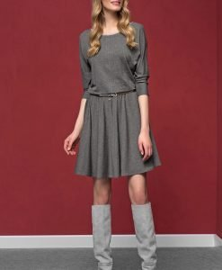 Rochie eleganta Altea Grey material tricot - Haine si accesorii - Rochii si fuste