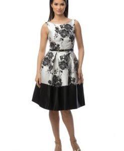 Rochie eleganta cu imprimeu floral DR2961 - Rochii de seara -