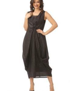 Rochie eleganta cu sclipici R101 negru - Rochii de seara -