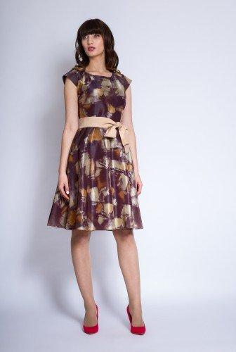 Rochie Eleganta Din Tafta Ema Maro Rochii De Seara Fashion Sales