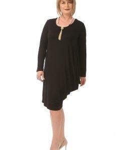 Rochie eleganta neagra R014L-N - Rochii de seara -