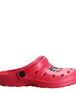 Saboti copii Minnie Mouse rosii - Incaltaminte Copii - Papuci copii