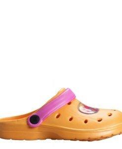 Saboti copii Trolls portocalii - Incaltaminte Copii - Papuci copii