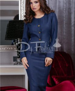 Sacou Dark Blue Chic - Office Collection -