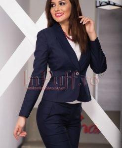Sacou dama office bleumarin - SACOURI -