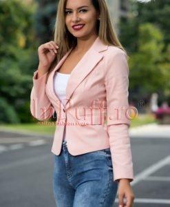 Sacou dama roz prafuit - SACOURI -