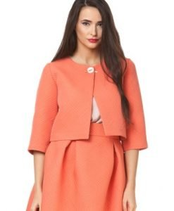 Sacou scurt orange D2303 - Sacouri -
