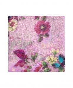 Sal multicolor din matase Violet - Accesorii - Accesorii / Saluri