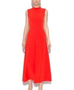 Salopeta culottes eleganta Rosu - Imbracaminte - Imbracaminte / Salopete