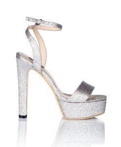 Sandale argintii cu platforma Argintiu - Incaltaminte - Incaltaminte / Sandale
