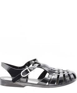 Sandale dama Abianan negre - Incaltaminte Dama - Sandale Dama