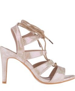 Sandale dama Agosto bej - Incaltaminte Dama - Sandale Dama