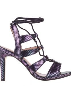 Sandale dama Agosto negre - Incaltaminte Dama - Sandale Dama