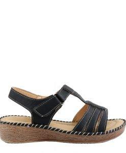 Sandale dama Aisha negre - Incaltaminte Dama - Sandale Dama