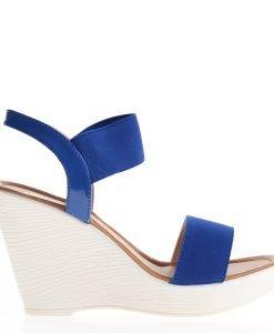 Sandale dama Aleta albastre - Incaltaminte Dama - Sandale Dama