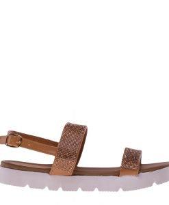 Sandale dama Alma camel - Incaltaminte Dama - Sandale Dama
