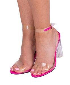 Sandale dama Amara fucsia - Incaltaminte Dama - Sandale Dama