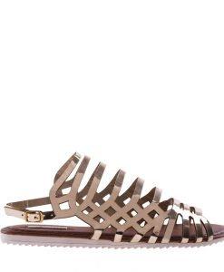 Sandale dama Aniketa aurii - Incaltaminte Dama - Sandale Dama