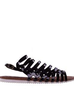 Sandale dama Aniketa negre - Incaltaminte Dama - Sandale Dama