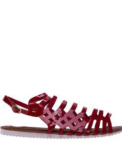 Sandale dama Aniketa rosii - Incaltaminte Dama - Sandale Dama