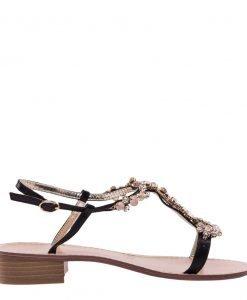 Sandale dama Apo negre - Incaltaminte Dama - Sandale Dama