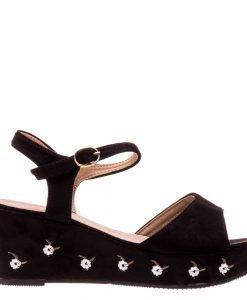 Sandale dama Aqua negre - Incaltaminte Dama - Sandale Dama