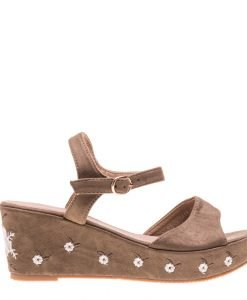 Sandale dama Aqua verzi - Incaltaminte Dama - Sandale Dama