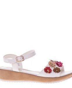 Sandale dama Arwen albe - Incaltaminte Dama - Sandale Dama