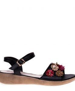 Sandale dama Arwen negre - Incaltaminte Dama - Sandale Dama