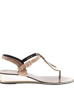 Sandale dama Auricht khaki - Incaltaminte Dama - Sandale Dama
