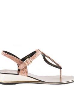 Sandale dama Auricht roz - Incaltaminte Dama - Sandale Dama