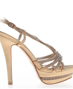 Sandale dama Avril aurii - Incaltaminte Dama - Sandale Dama