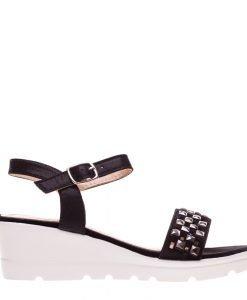 Sandale dama Banda negre - Incaltaminte Dama - Sandale Dama