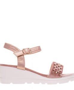 Sandale dama Banda roz - Incaltaminte Dama - Sandale Dama