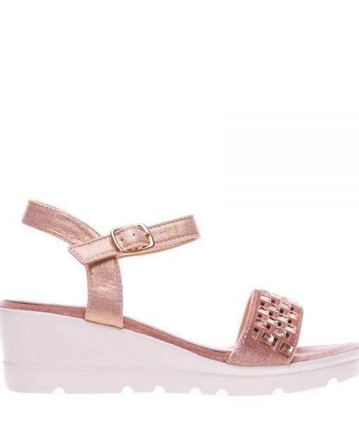 Sandale dama Banda roz – Incaltaminte Dama – Sandale Dama