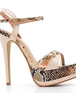 Sandale dama Barclay bej - Incaltaminte Dama - Sandale Dama