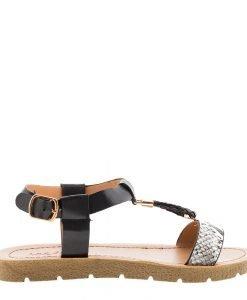 Sandale dama Boucher negre - Incaltaminte Dama - Sandale Dama