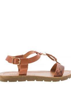 Sandale dama Boucher tan - Incaltaminte Dama - Sandale Dama