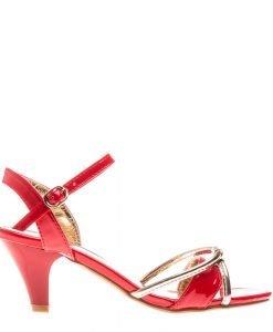 Sandale dama Bridgette rosii - Incaltaminte Dama - Sandale Dama