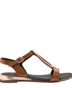Sandale dama Broom camel - Incaltaminte Dama - Sandale Dama