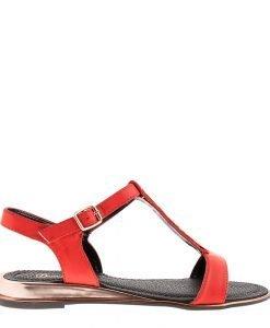 Sandale dama Broom rosii - Incaltaminte Dama - Sandale Dama