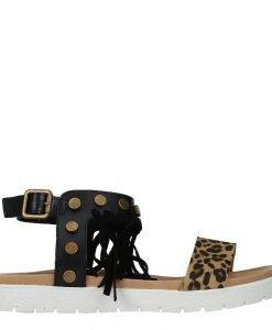 Sandale dama Brya negre - Incaltaminte Dama - Sandale Dama