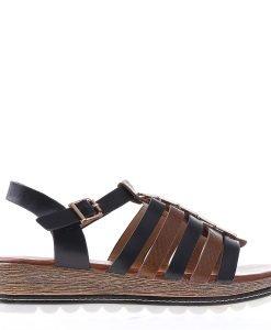 Sandale dama Brylee negre - Incaltaminte Dama - Sandale Dama
