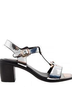Sandale dama Caitlyn argintii - Incaltaminte Dama - Sandale Dama