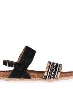 Sandale dama Cardenas negre - Incaltaminte Dama - Sandale Dama