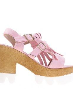 Sandale dama Cary roz - Incaltaminte Dama - Sandale Dama