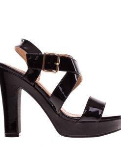 Sandale dama Cavazos negre - Incaltaminte Dama - Sandale Dama
