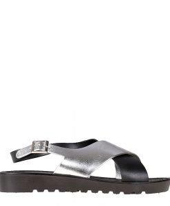 Sandale dama Charmaine argintii - Incaltaminte Dama - Sandale Dama
