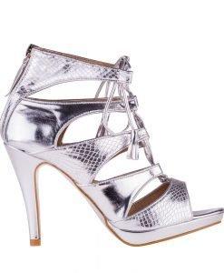 Sandale dama Chavez 2 argintii - Incaltaminte Dama - Sandale Dama